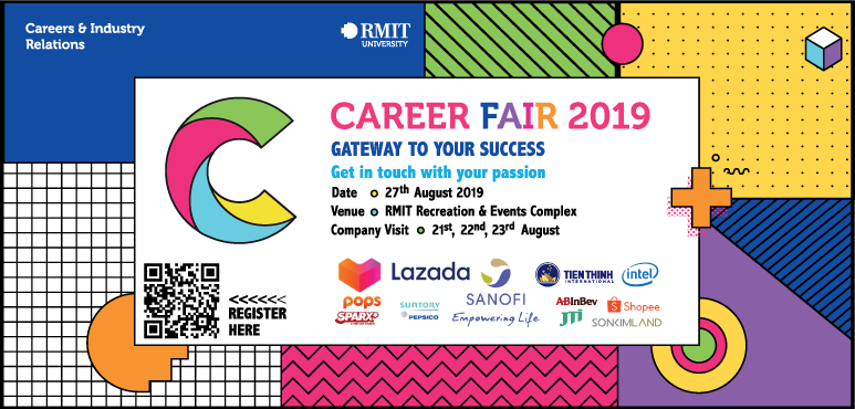 SHOPEE X RMIT Career Fair: HEAD START TO YOUR INSPIRING CAREER