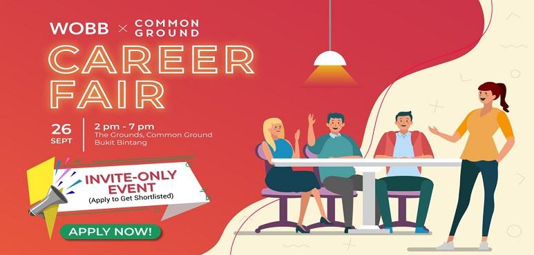 WOBB x Common Ground Career Fair
